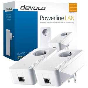 Powerline dLAN 1200+ Starter Kit (2 Geräte) DEVOLO 9376