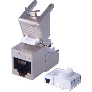 geschirmtes CAT.6A Keystone Modul DIGITUS DN-93617