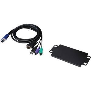 USB KVM Cat.5 extender, 200metres DIGITUS DS-51200