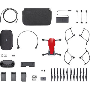 Quadrocopter, Mavic Air, Feuerrot, Fly More Combo DJI CP.PT.00000169.01