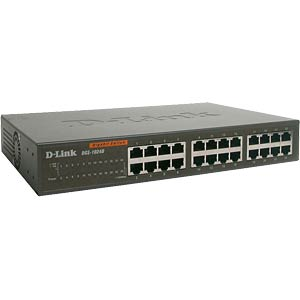 Switch, 24-Port, Gigabit Ethernet D-LINK DGS-1024D