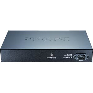 Switch - verwaltet - 16 x 10/100/1000 - Desktop D-LINK DGS-1100-16