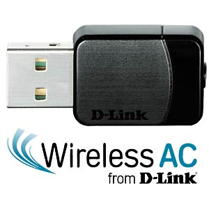 WLAN-Adapter, USB, 583 MBit/s D-LINK DWA-171