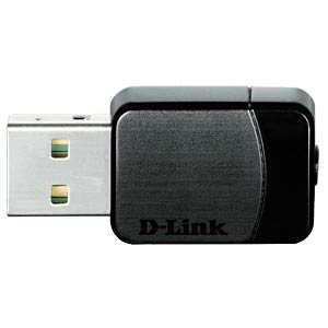 Wireless AC Dualband Nano USB Adapter D-LINK DWA-171