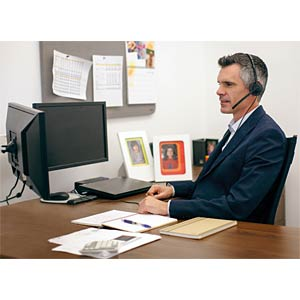 Speech recognition software with headset NUANCE K609G-W00-13.0