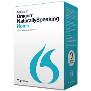 Software, Spracherkennung, NaturallySpeaking Home NUANCE K409G-W00-13.0