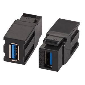 Keystone Adapter USB3.0, type A jack EFB-ELEKTRONIK EB537