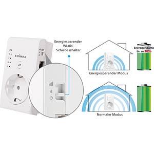 300MBit/s Mini Wi-Fi Extender/Repeater-Steckd. EDIMAX EW-7438PTN