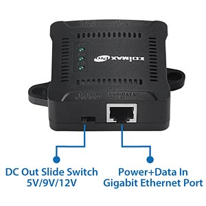Power over Ethernet (POE) Splitter EDIMAX GP-101ST