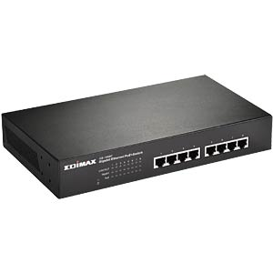 8-Port Gigabit Switching Hub mit PoE, 150W EDIMAX GS-1008P