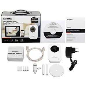 Edimax® WIFI IP camera 720p EDIMAX 3116W