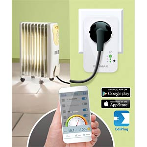 Switchable outlet via WIFI — power measurement EDIMAX SP-2101W