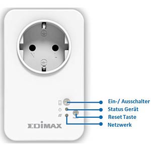 Smart Plug — switchable outlet via WIFI EDIMAX SP-1101W