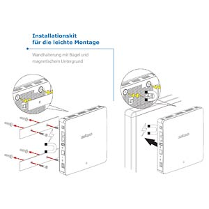 3 x 3 AC Dual-Band PoE-Acc.Point Wandmontage EDIMAX WAP1750