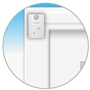 1 x PIR Bewegungsmelder Smart-Home EDIMAX WS-2002P
