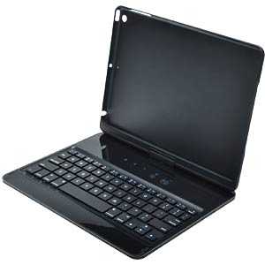 360° Bluetooth® keyboard case for iPad® Air EDNET 86276