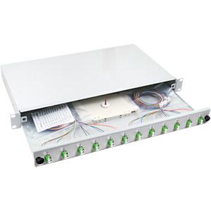 Spleißbox LC, 12 Pigtails / 6 Kupplungen, OM5 EFB-ELEKTRONIK B71901.12OM5