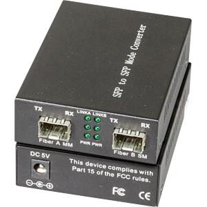 Medienkonverter, Gigabit Ethernet, SFP, Multimode / Singlemode EFB-ELEKTRONIK EL031