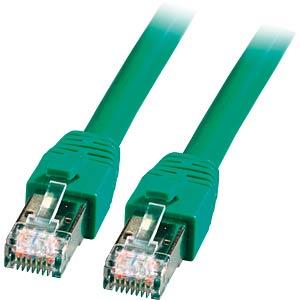 RJ45 Patchkabel S/FTP, Cat.8.1,BC, LSZH, 0,5m, grün EFB-ELEKTRONIK K5528GN.0,5