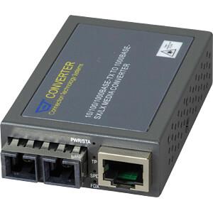 Medienkonverter, Gigabit Ethernet, SC, Multimode CTS MCT-3002BTFC