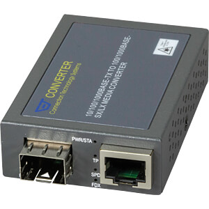 Medienkonverter, Gigabit Ethernet, SFP CTS MCT-3002SFP-DR
