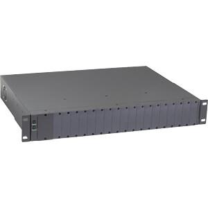 Medienkonvertergehäuse, für bis zu 18 Konverter CTS MCT-RACK-18-2A