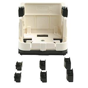 Universal appliance support for RJ45 boxes TELEGÄRTNER H02010B0013