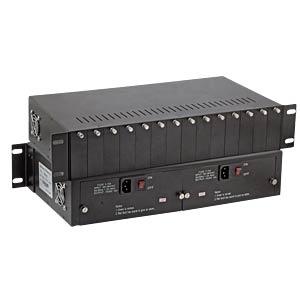 Medienkonvertergehäuse, für bis zu 14 Konverter EFB-ELEKTRONIK EL0CH1