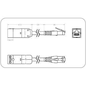 Netzwerkisolator, Kabel und Überlastentriegelung EMO SYSTEMS EN-85E