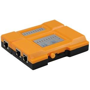 Kabeltester für RJ45, RJ11 Kabel EQUIP 12996507