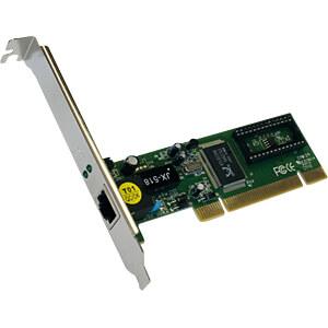 Netzwerkkarte, PCI, Fast Ethernet, 1x RJ45 EXSYS EX-6070