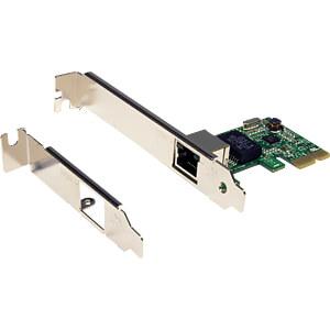 Netzwerkkarte, PCI Express, Gigabit Ethernet, 1x RJ45 EXSYS EX-6071B