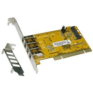 USB-Controller 3.0, 4-Port, PCI-Karte EXSYS EX-1093
