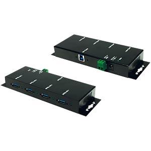 USB 3.0 HUB 4 Port - 1.5A Strom pro Port EXSYS EX-1183HMVS