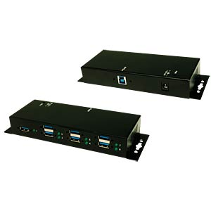 USB 3.0 7-port hub - 1.5 A of power per port EXSYS EX-1189HMVS