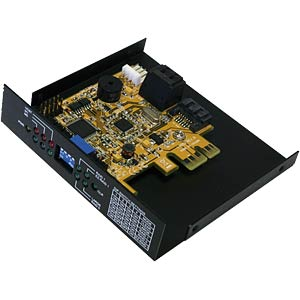 Backup SATA 2 system - RAID 0 and 1 hardware EXSYS EX-3455