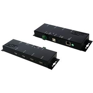 Ethernet PoE 1Giga LAN 4 x USB 2.0 ports EXSYS EX-6002POE