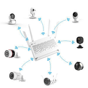 Netzwerk-Videorekorder 8-Kanal EZVIZ 306100015