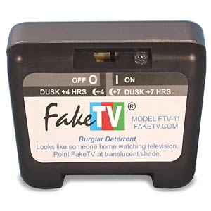 Fake TV Plus, (Dummy) TV-Simulator, das Original KH SECURITY 250110