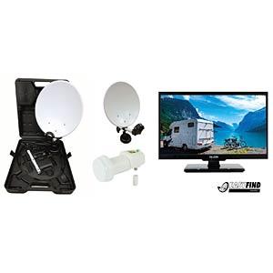 FALCON 3209 - Camping SatTV-Set