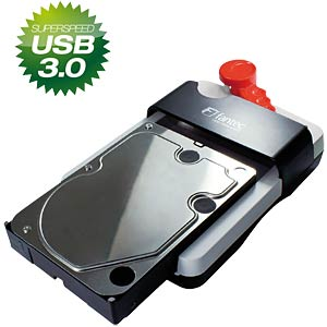 "USB3.0 HDD Sneaker 6,4cm (2,5""), 8,9cm (3,5"") FANTEC 1442"