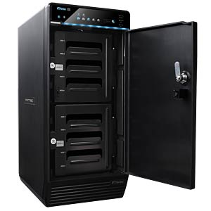 HDD Rack 8x 3,5 SATA HDD USB3.0 eSATA FANTEC QB-X8US3-6G