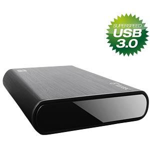 externes 3.5 SATA HDD Gehäuse, USB 3.0, Aluminium FANTEC 1434