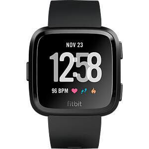 Smartwatch, Versa, schwarz FITBIT FB505GMBK-EU