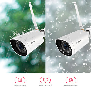 IP/WLAN cam, 1080p, outdoor FOSCAM FI9902P