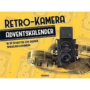 ADV20 67095-3 - Adventskalender Retro-Kamera für Fotografen