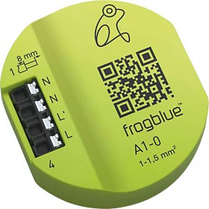1 channel switching actuator, Bluetooth FROGBLUE A1-0-400.01