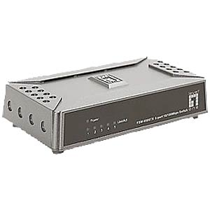 LevelOne 5-port Mini Fast Ethernet Switch LEVELONE FSW-0508TX