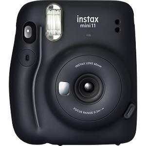 FUJI 16655027 - Fujifilm instax mini 11 charcoal gray