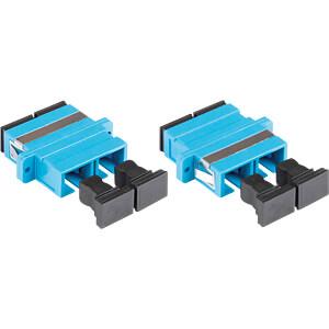 Optical Fiber Coupler SC(UPC)/SC(UPC) duplex GOOD CONNECTIONS LW-K206